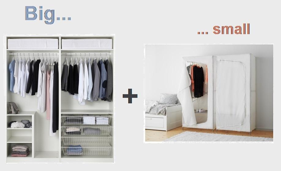 Ikea Armadio Piccolo.Armadio Ordinato 2 Vitaincasa
