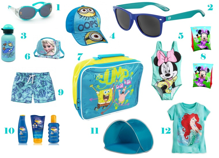 Summer essentials kids