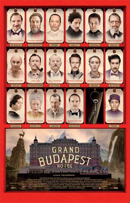 Grand Hotel Budapest locandina