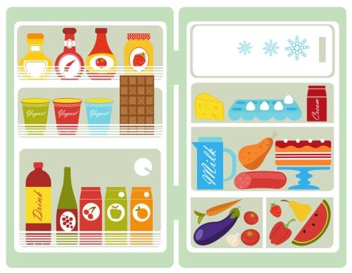 Conservare in frigorifero