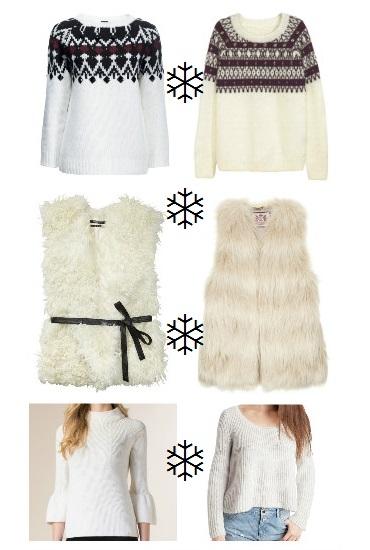 Idee moda Natale bianco