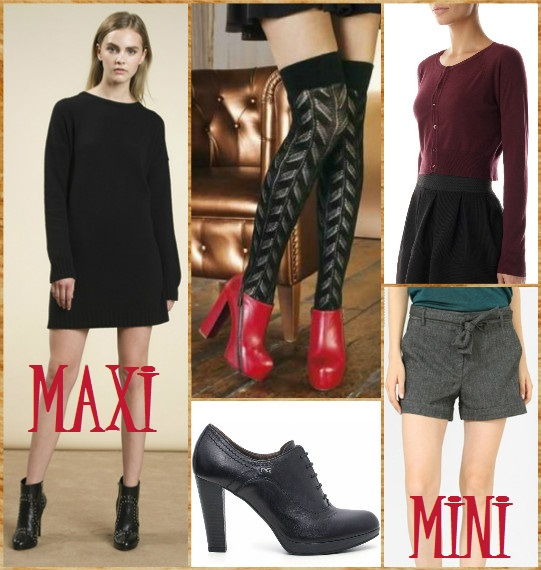 Outfit con calze parigine