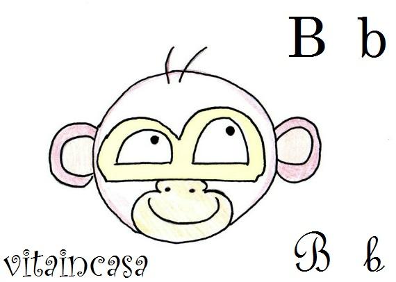 bertuccia disegno disegnare scimmia monkey