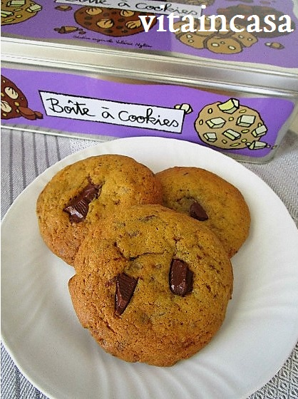 Chocolate chip cookies, Cookies alle gocce di cioccolato