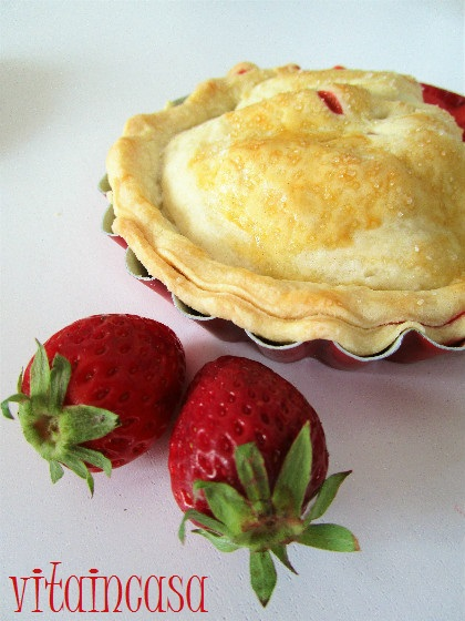 Mini pies alle fragole