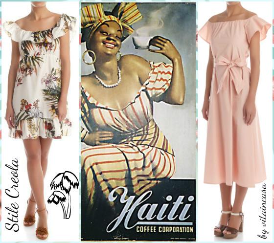 stile creola haiti