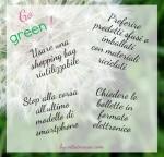 Ridurre i rifiuti qualche idea green