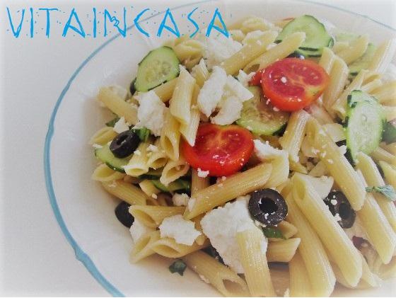 insalata di pasta alla greca r