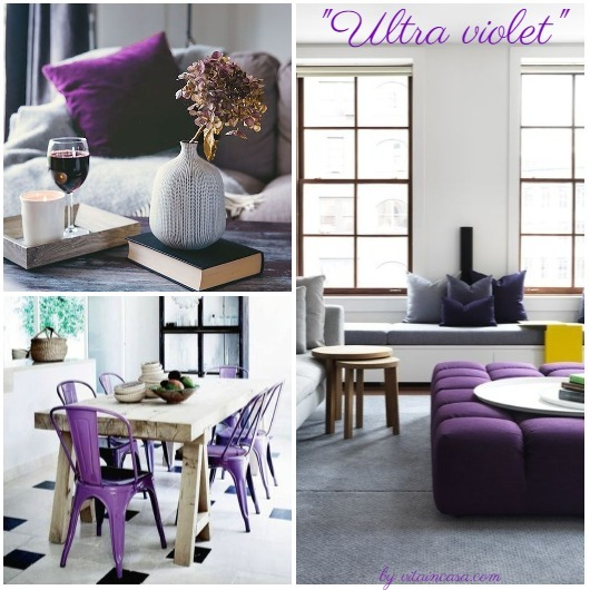 Ultra violet home decor