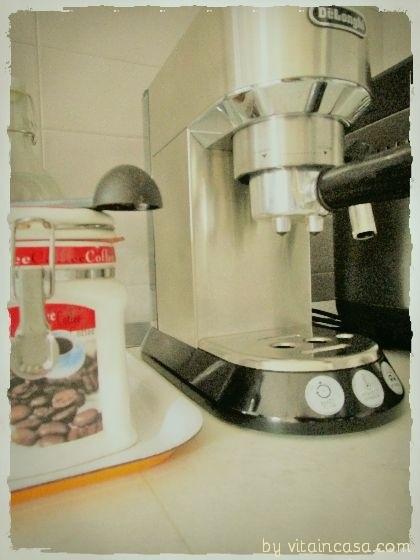 dove mettere la macchina del caffè