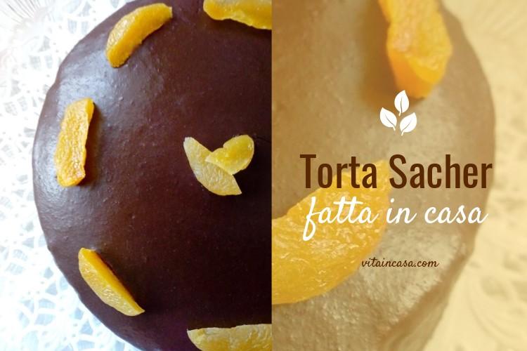 Torta SACHER fatta in casa by vitaincasa (2)