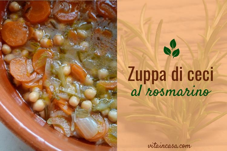 zuppa di ceci al rosmarino by vitaincasa n