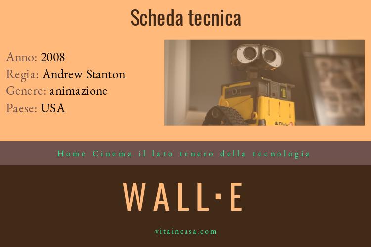 Home cinema il lato tenero della tecnologia Wall-E by vitaincasa