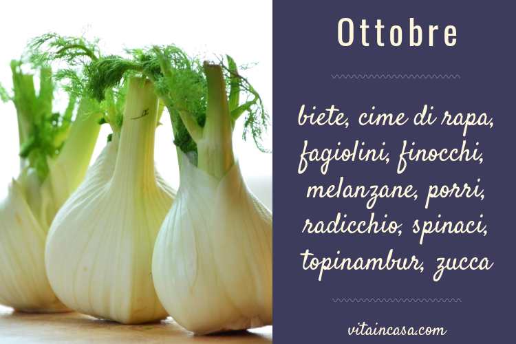 verdure di ottobre