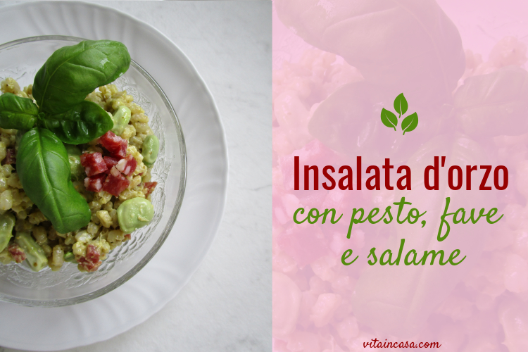 insalata d orzo con pesto fave e salame by vitaincasa ps