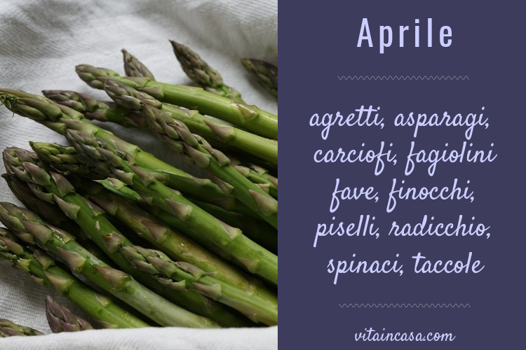 Verdure del mese di aprile by vitaincasa