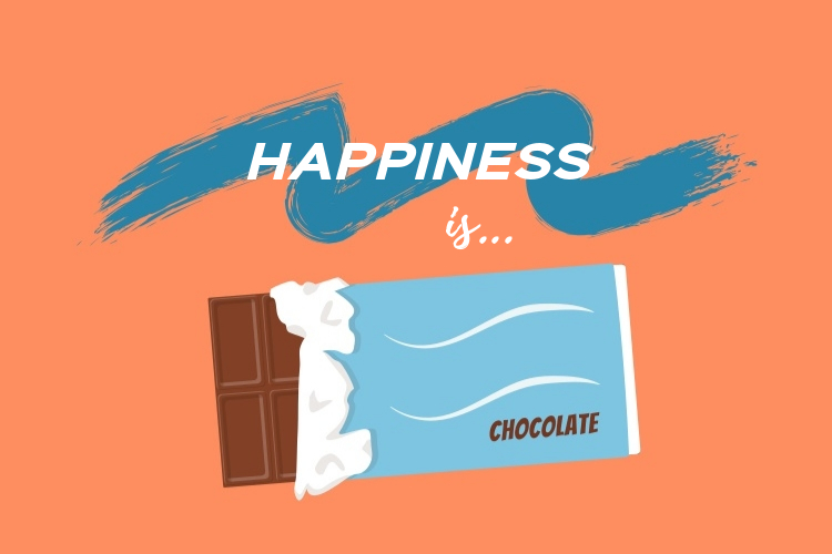 06.Happiness is chocolate by vitaincasa