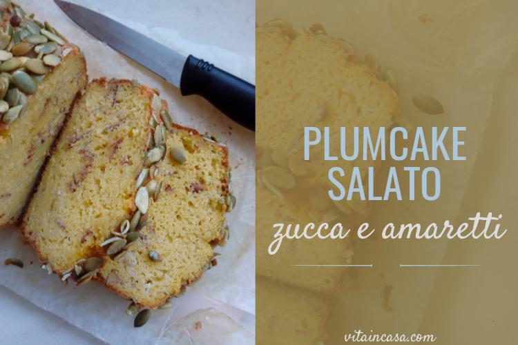 Plumcake salato zucca e amaretti by vitaincasa 1