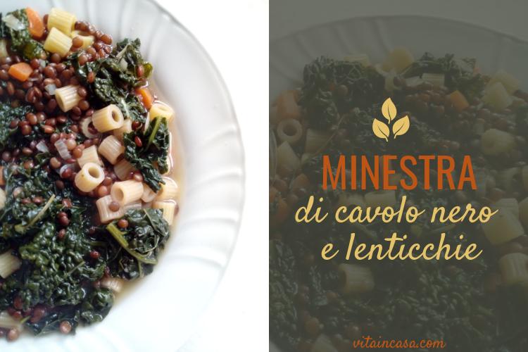 Minestra di cavolo nero e lenticchie by vitaincasa (1)