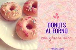 Donuts al forno con glassa rosa by vitaincasa (1)