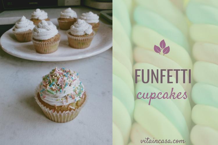 Funfetti cupcakes by vitaincasa