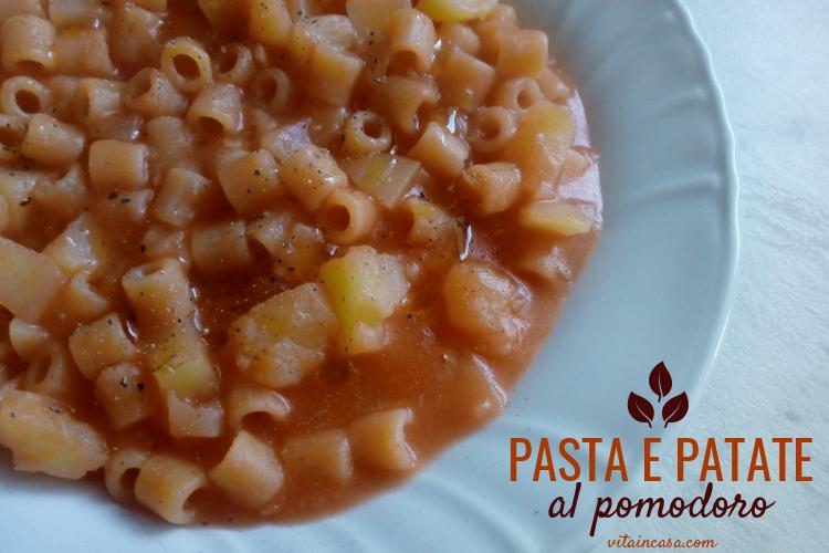 Pasta e patate al pomodoro by vitaincasa (2)