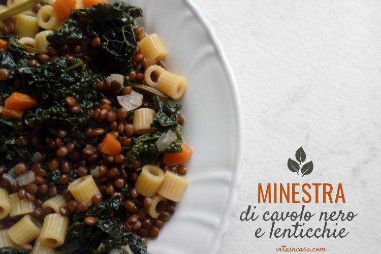 Minestra di cavolo nero e lenticchie by vitaincasa (2)