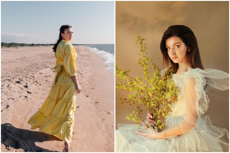 Yellow romantic dresses by vitaincasa