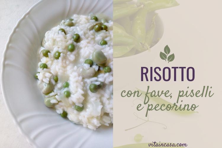 Risotto con fave piselli e pecorino by vitaincasa (2)