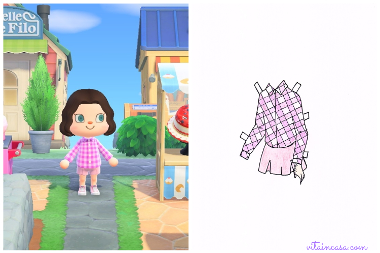 Animal crossing inspired outfit_ completo pink by vitaincasa (1)
