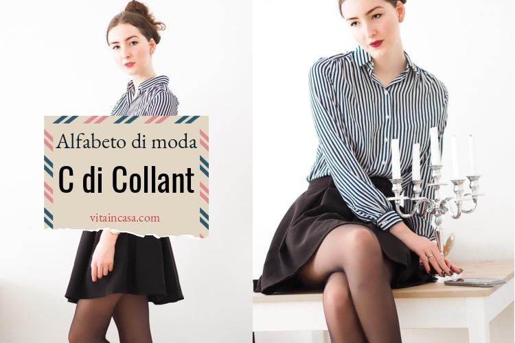 Alfabeto di moda C di Collant