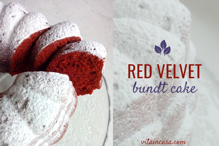 RED velvet bundt cake by vitaincasa s