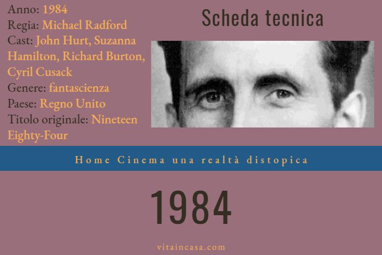 1984, Home cinema una societa distopica by vitaincasa